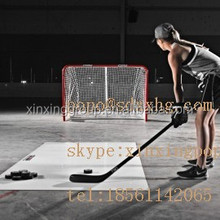 Portable PE sliding sheet/ ice hockey shooting pad