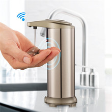 Waterproof base auto Stainless Steel Soap Dispenser Hand Soap Dispenser
