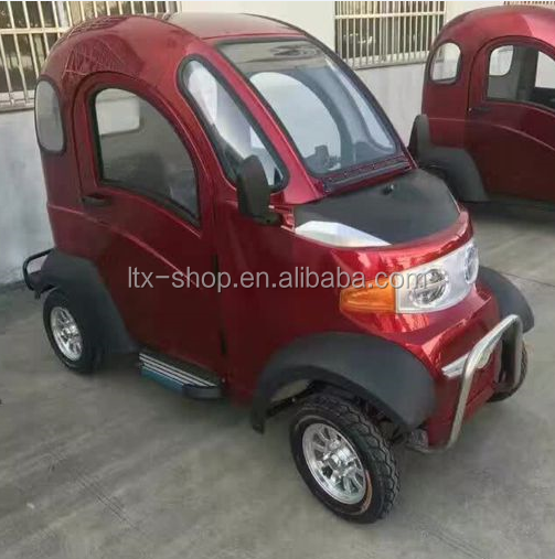 60V 1000W Mini New Energy Vehicle Automobile, Electric 4 Wheel Pickup Type Mobility Scooter With 2 Passenger Seats For Wholesale