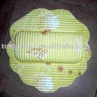 made of 100% high-tech Comfortable PVC Head Pillow,cheaepst price