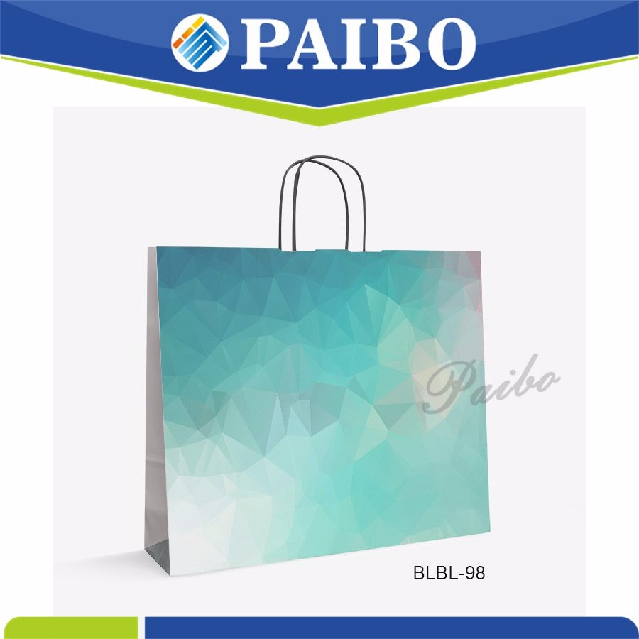 BLBL-98 2020 new design industry shopping paper bag for promotional