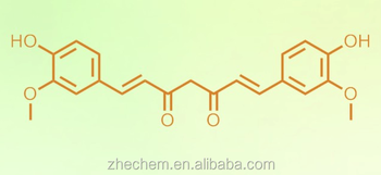 High quality 99.8% Curcumin/CAS NO: 458-37-7