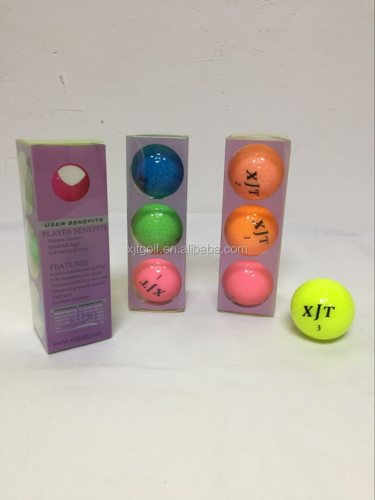 Impact activated mini three layer urethane tournament golf ball