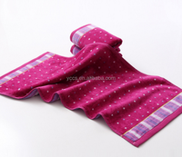cloth and terry red towels from , China Gaoyang 100% cotton face towel