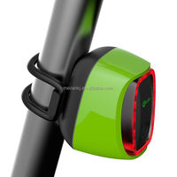 Dynamo powered light E bike Led lighting Meilan X6 Intelligent City Road sensor detect tail lights