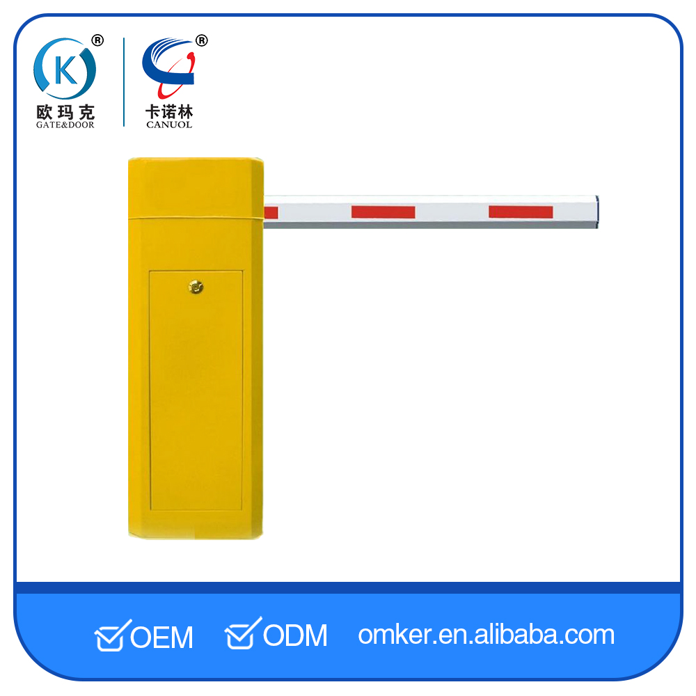 Remote Control RFID Parking Lot Gate Arms For Car Parking System