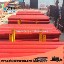 DN125*3m*4.5mm pipe putzmeister concrete pump deck pipe PM/Schwing/Sany/Zoomlion brand for pump truck and trailer