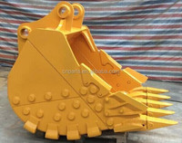 special design heavy duty rock bucket ROCK for EXCAVATOR PC200/PC240/PC300/PC400/PC450