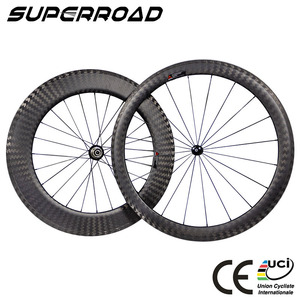 Best Selling Road Bike Full Carbon Front 50mm Rear 88mm Clincher Bicycle Track Wheels
