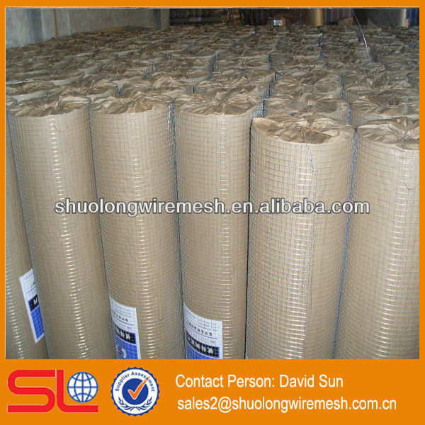 anping2X2 galvanized weld mesh ,square hole weld mesh,steel construction weld mesh.
