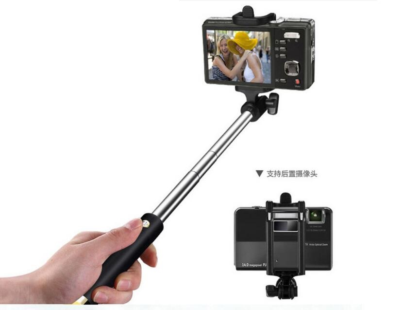 Factory supply high quality extendable wired monopod selfie stick,hot selling selfie stick 2016