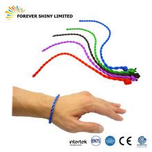 Personalize Party Promotional Small Capsule Fashion Toy Fabric Rope Hemp Woven Braided Bracelet for Vending Machines