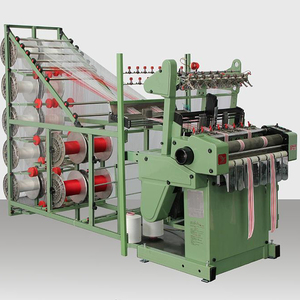 JINGYI JYF5 needle loom,flat bed knitting machine,narrow fabrics machine,lace,tape,elastic