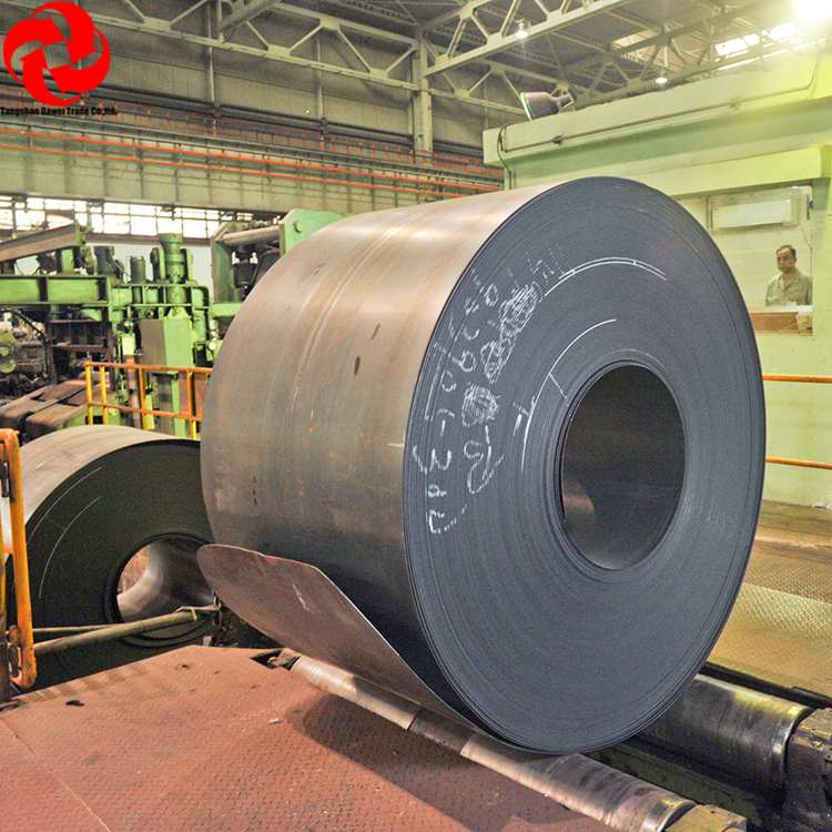 6mm HRC Mild Hot Rolled Coils Q235 SS400 a36 Steel Plate for Sale