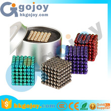 2017 Hot sale neodymium magnets Neodymium Magnetic balls 216 5mm magnetic ball puzzle game