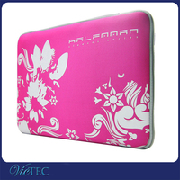 Custom printed neoprene waterproof computer laptop sleeve wholesale