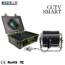 Cheap LED data hold IP68 meter counter zoom self leveling wireless deep water sea drilling Camera For army surveillance