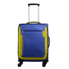 Volume produce simple style premium vintage nylon soft luggage