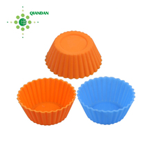 Silicone cupcake cases liner holder