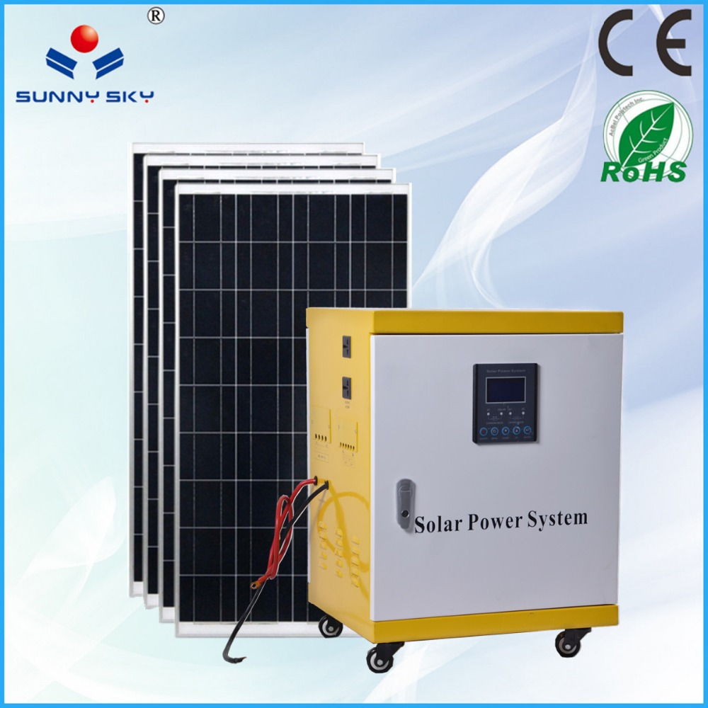 complete set 5kw solar power 220 volt china solar energy system