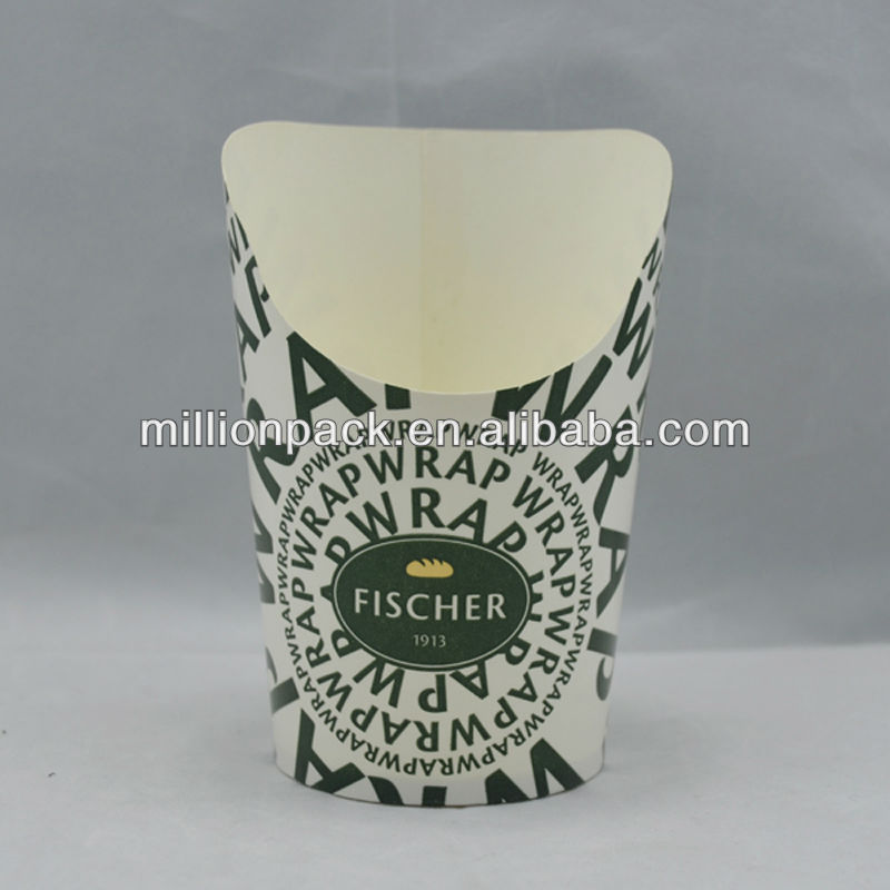 chinese paper chip cup