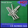 locking wood screws/a2/a4/HDG/black oxide/design nail concrete