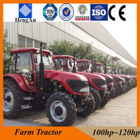 big size farm tractor made in China with air-co, heater