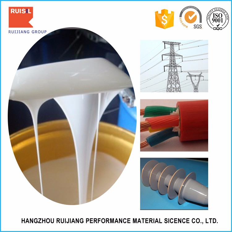 Peroxide curing single component Liquid Silicone Rubber For Urethane Plastics