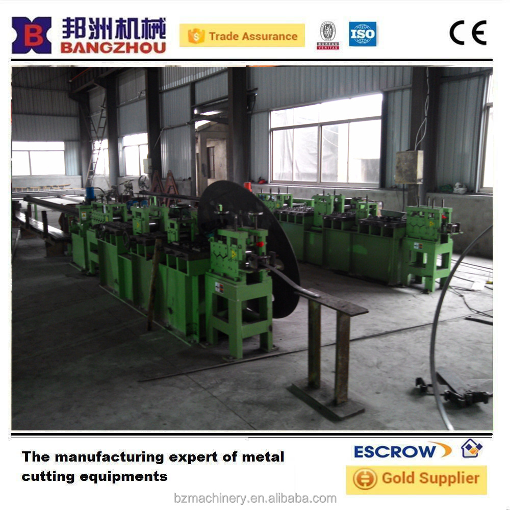 china hydraulic flat bar straightening and cutting machine