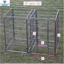 8 panel black rabbit puppy play pen indoor or outdoor compact folding enclosure
