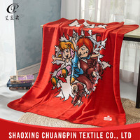 Promotion Various color New design cable knit throw blanket