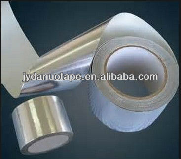 Aluminum adhesive tape with white release paper