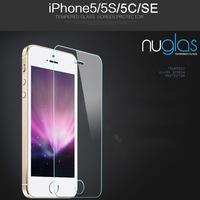 Ultra clear tempered glass film screen protector lcd for iPhone 5 5c 5s