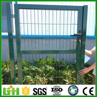 GM best price powder coated 2016 modern iron house main gate design