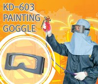 GOGGLE with a wind-able film mechanism for Painting