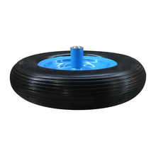 4.00-8 solid pu foam wheel for wheelbarrow