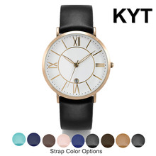 KYT 2016 New Products Light Weight 3ATM Japan Quartz Lady Women Watch