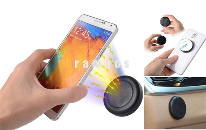 Universal Magnetic Support Cell Phone Car Dash Mount Sticky Magnet Holder Stand for iPhone for Samsung