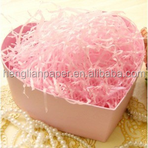 Premium Quality Shredded <strong>paper</strong> for Gift/box packing stuff material