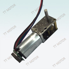 12mm small variable speed electric motor with worm gear