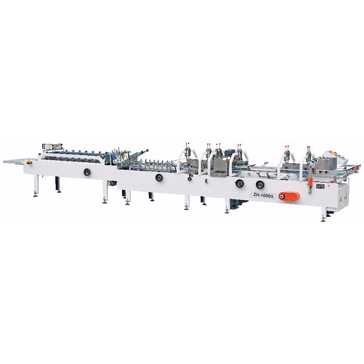 ZH-1000G Normal Cold Glue box gluing machine