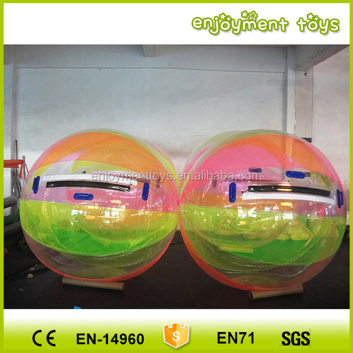 Wholesale CE human in ball air balls on water, buy a human hamster ball