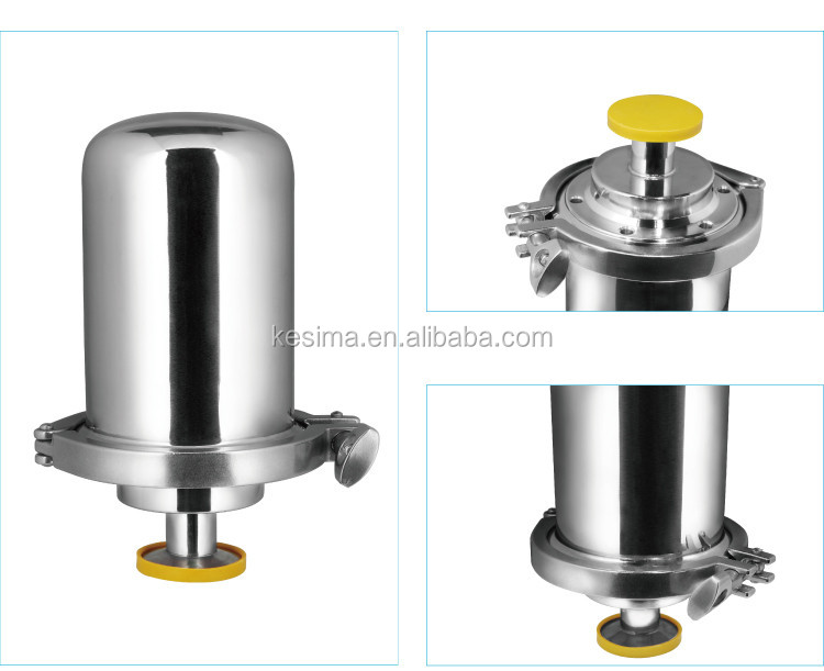 BJF Vent Filter Houisng for tank vent PTFE Membrane 0.22 micron filter