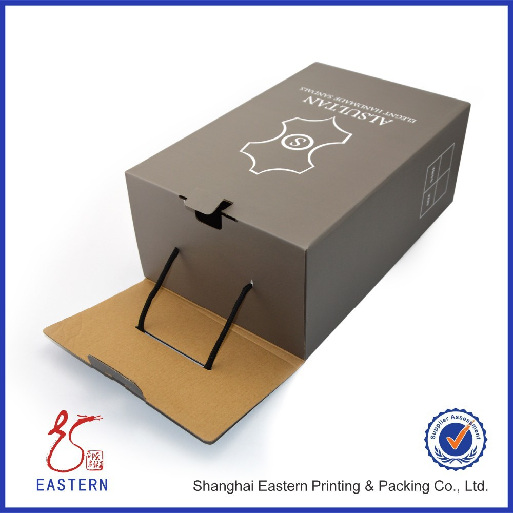 Custom Paper Cardboard Shoe Box Packaging Wholesale