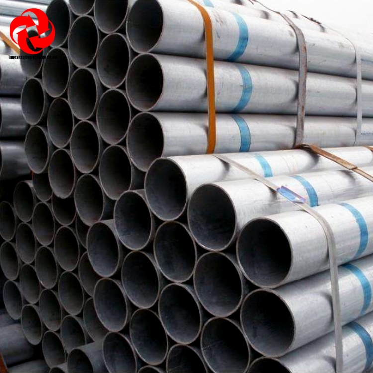China Wholesale ASTM A500 Mild carbon q195 q235 steel pipe/erw welded tubes/galvanized pipe