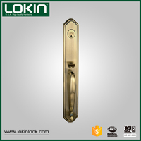 China factory new 2016 hot sale ANSI grade zinc lock set for entry door