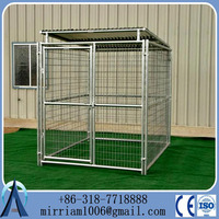 2015 Large outdoor modular dog kennel kennels for dog/iron fence dog kennel/big metal dog kennel