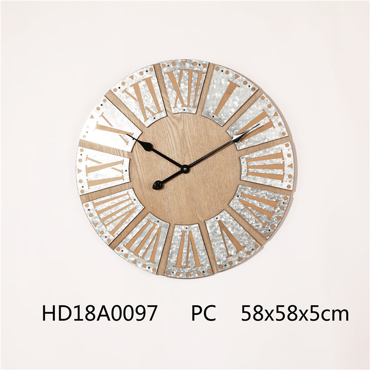 10 Inch Runs Counterclockwise Reverse Backward Clock