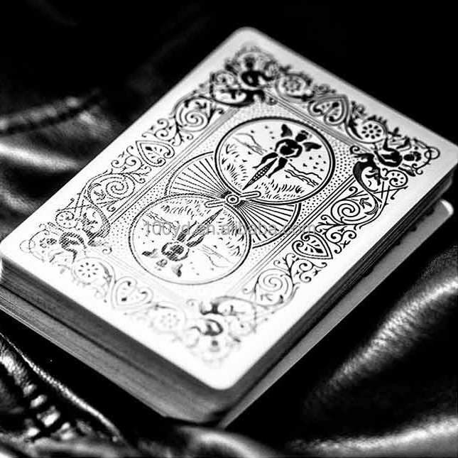 All New Ghost Mini Deck Playing Cards with Custom Patterns