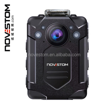 novestom NVS9 1296P HD body camera with 3200mAh 17hours IR Night Vision Waterproof police Body worn Camera for Low Enforcement